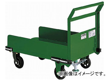 トラスコ中山/TRUSCO 鋼鉄製運搬車 900×600 三面パネル S付 OHN23PS(3081206) JAN:4989999694031