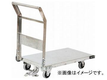 トラスコ中山/TRUSCO ステンレス鋼板製運搬車 固定式 1400×750 S付 SHS1LS(3372847) JAN:4989999015416