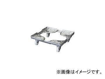 ルート工業/ROUTE コンテナ台車 ルートボーイ602AL型(アルミ) 最大410×610 602AL03