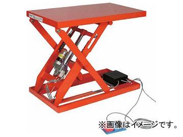 トラスコ中山/TRUSCO テーブルリフト100kg(電動Bねじ式200V)400×650mm HDLH1046V22