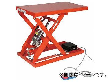 トラスコ中山/TRUSCO テーブルリフト100kg(電動Bねじ式200V)400×720mm HDLL1047V22