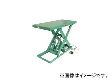 河原/KAWAHARA 標準リフトテーブル 1.5KW K30091.5