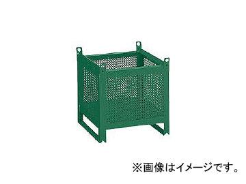 正規品 450×450×H450 ミニカーゴ JAN:4989999676303:オートパーツエージェンシー トラスコ中山/TRUSCO パンチング型 VJ452(5168708)-DIY・工具
