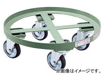 トラスコ中山/TRUSCO 円形台車 全周ガイド型 荷重300kg 台寸φ610 RC300(5100887) JAN:4989999671667