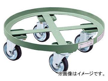 トラスコ中山/TRUSCO 円形台車 全周ガイド型 荷重500kg 台寸φ610 RC500(5100895) JAN:4989999671674