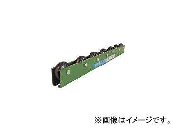 寺内製作所/TSCONVEYOR 黒ゴムライニングスチール製ホイールコンベヤ φ48×P75×1800L KRA6BGP75X1800L
