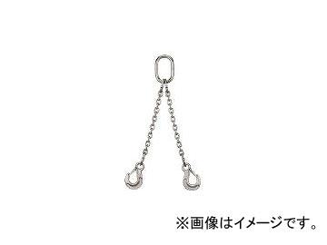 象印チェンブロック/ELEPHANT SUS製チェーンスリング2本吊りスリングフックタイプ 0.6t 2SAKSHK5(3770729) JAN:4937510851005