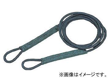 トラスコ中山/TRUSCO セフティパワーロープ シンブルなし 12mm×2m SP122(1175521) JAN:4989999178616