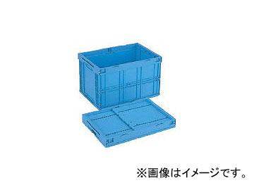 岐阜プラスチック工業/GIFUPLA CB型折りたたみコンテナー 青 CBS95AS B(3349471) JAN:4938233450131