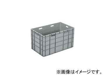 三甲/SANKO TPボックス TP485L(取手有) ライトグレー SKTP485LGLL(3421813) JAN:4983049365063