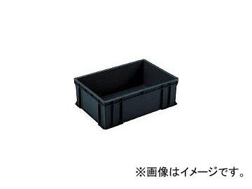 岐阜プラスチック工業/GIFUPLA BE型導電性コンテナーB-56導電 ブラック BE56(4231911) JAN:4938233132730