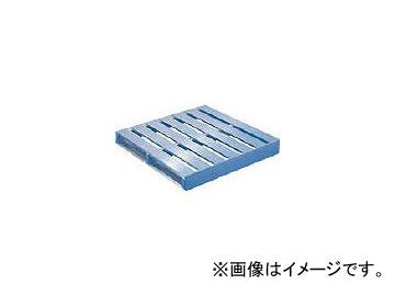 日軽金アクト/ACT アルミパレット片面二方差型 1200×1100×140 DBT1211
