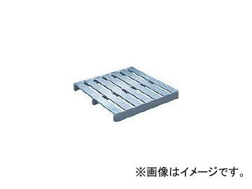 日軽金アクト/ACT アルミパレット単面二方差型 1100×1100×120 SBT1111