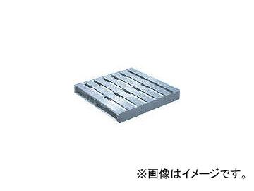 トラスコ中山/TRUSCO アルミパレット片面二方差型 1000×1000×140 TDBT1010(3841910) JAN:4989999038231