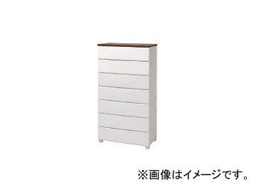 アイリスオーヤマ/IRISOHYAMA ウッドトップチェスト ホワイト/ウォールナット MG724(4101111) JAN:4905009805792
