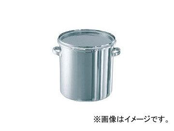 日東金属工業/NITTO-KINZOKU ステンレスタンク ストレートレバーバンド式密閉タンク(フタ付) 36L CTL36(5096065) JAN:4560132181672