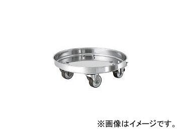 日東金属工業/NITTO-KINZOKU タンク運搬用ステンレス台車 SUSウレタン車 適用サイズ39 KMS39(3982475) JAN:4560132183294
