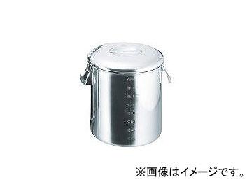 260×260 18-8目盛付深型キッチンポット SH4626D(3320367) スギコ産業/SUGICO JAN:4580128945804 内蓋式