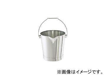 ステンレスバケツ 20L 日東金属工業/NITTO-KINZOKU BA20(3106730) JAN:4560132183102