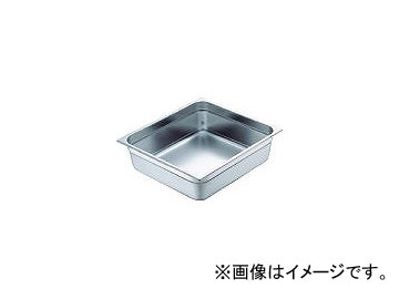 スギコ産業/SUGICO 18-8スーパーデラックスパン 2/3サイズ 353×325×200 SH1878SW(5007992) JAN:4560125838743