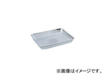スギコ産業/SUGICO 18-8ステンレスメッシュ浅角バット 6枚取 337×481×50 SM901(5007551) JAN:4515261998554