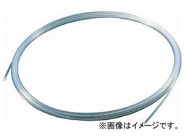 トラスコ中山/TRUSCO フッ素樹脂チューブ 内径6mm×外径8mm 長さ10m TPFA810(2562987) JAN:4989999351743