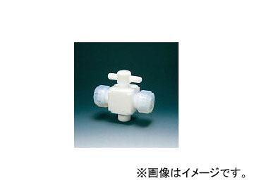 フロンケミカル/FLON テフロン二方バルブ接続6mm NR002801(3915379) JAN:4562305540057