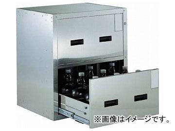 トラスコ中山/TRUSCO Bigborn 耐震薬品庫 705×600×H800 2段引出型 SYW2(5115621) JAN:4989999631722