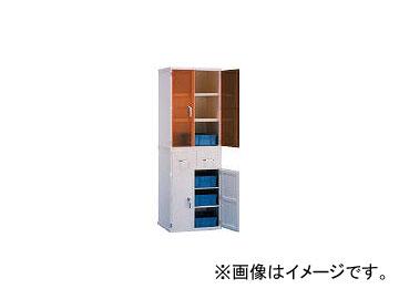 新光化成/SHINKOKASEI 塩ビ薬品庫EY-600上段 EY600A