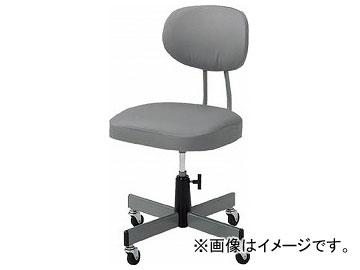 トラスコ中山/TRUSCO 事務椅子 ビニールレザー張り グレー T80(5035724) JAN:4989999755527
