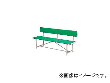 ノーリツイス/NORITSUISU ベンチ(背付) 緑 RBA1800 GN(2845954) JAN:4560120322322