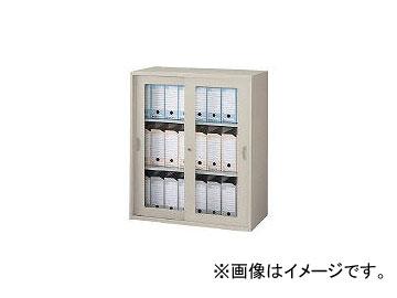ナイキ/NIKE ガラス引違い書庫(枠付) NWS0911HGAW