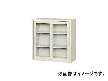 東洋事務器工業/TOYO-JIMUKI ガラス戸引違書庫33型 33SGTNG