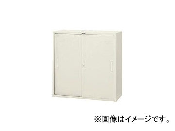 東洋事務器工業/TOYO-JIMUKI スチール戸引違書庫33型 33SSTNG