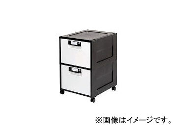 アイリスオーヤマ/IRISOHYAMA オフィスキャビネット HG-202 ブラック HG202BK(3640299) JAN:4905009600496