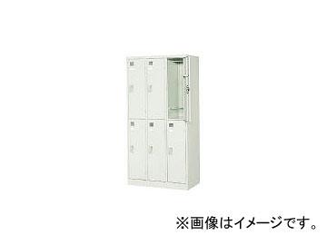 東洋事務器工業/TOYO-JIMUKI スタンダードロッカー6人用 LK6TNG