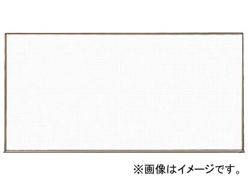 トラスコ中山/TRUSCO スチール製ホワイトボード 白暗線 ブロンズ 600×900 WGH122SA BL(2884968) JAN:4989999774542