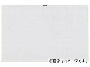 トラスコ中山/TRUSCO スチール製ホワイトボード 白暗線 白 600×900 WGH122SA W(2884917) JAN:4989999774559