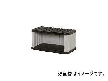 アイリスオーヤマ/IRISOHYAMA ミニロッカー ML-450V ブラック/グレー ML450VBG(4129245) JAN:4905009722006
