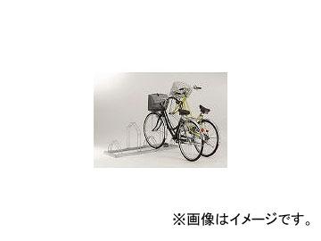 ダイケン/DAIKEN 平置き自転車ラック前輪差込式サイクルスタンド 4台収容ピッチ400 CSM4