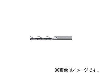 三菱マテリアル/MITSUBISHI 2枚刃超硬エンドミル(ロング刃長) アルミ用 ノンコート 10mm C2LAD1000(6591426)