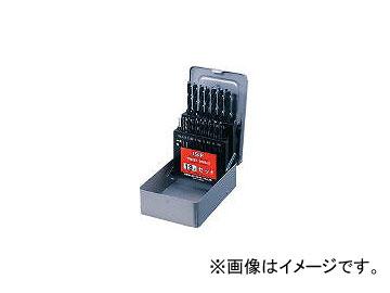 イシハシ精工/IS ストレートドリル 19本組セット D19S(3022587) 入数:1セット(19本入) JAN:4957656530039
