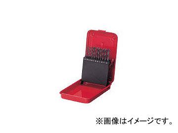 三菱マテリアル/MITSUBISHI ドリルセット19本組 SET19(1081381) 入数:1セット(19本入) JAN:4518772911128