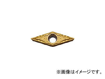 京セラ/KYOCERA 旋削用チップ PV7010 PVDサーメット VBMT160408VF PV7010(6537162) 入数:10個 JAN:4960664549863