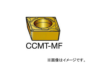 サンドビック/SANDVIK コロターン107 旋削用ポジ・チップ 2015 CCMT09T304MF 2015(6095291) 入数:10個