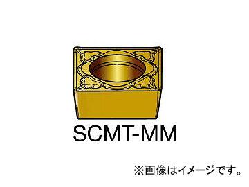 サンドビック/SANDVIK コロターン107 旋削用ポジ・チップ 2025 SCMT09T308MM 2025(6106102) 入数:10個