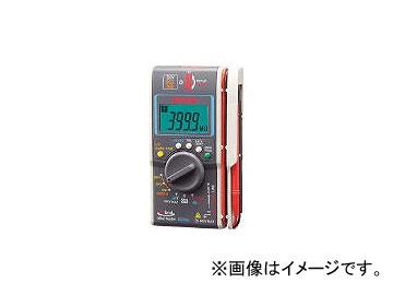 三和電気計器/SANWA-METER ハイブリッドミニ絶縁抵抗計 ケース付 DG34AC(4350502) JAN:4981754044662