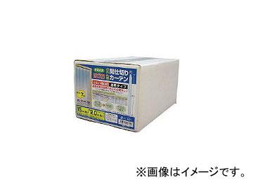 ユタカメイク/YUTAKAMAKE のれん型間仕切りカーテン15cmx約2m B361(4315383) 入数:1箱(7枚入) JAN:4903599084245