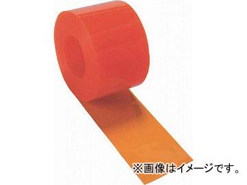 トラスコ中山/TRUSCO ストリップ型間仕切りシート防虫オレンジ3X300X30M TSBO33030(4540204)