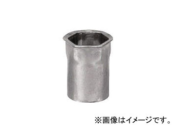 ポップリベットファスナーPOP ポップブラインドナットヘキサスモールフランジ(M5) SFH515SFHEX(4418549) 入数:1箱(1000個入) JAN:4536178140676